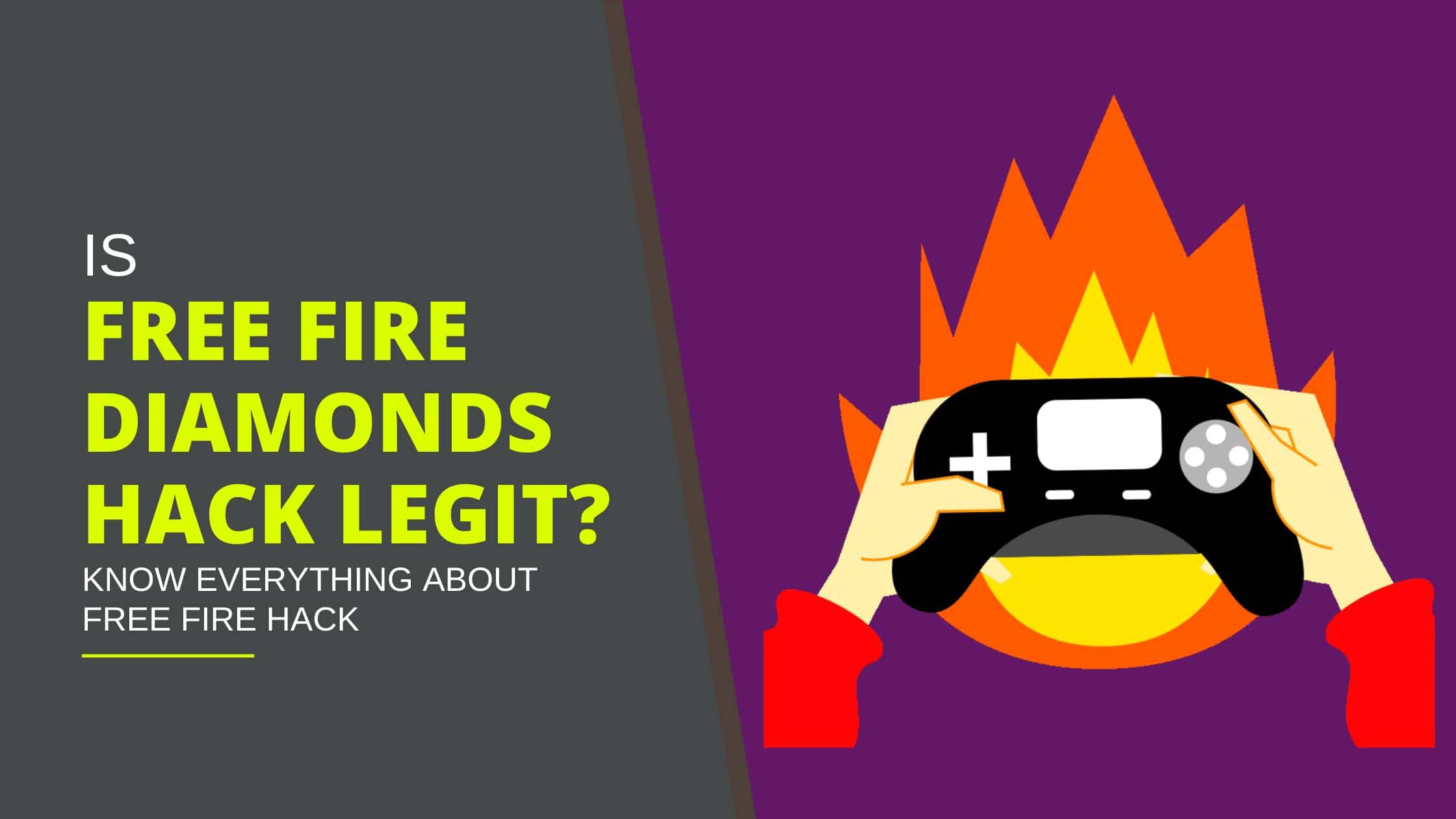 Free fire diamonds hack legit